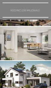 Modernes Einfamilienhaus   – garden-contemporary