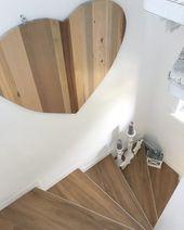 Treppenhaus makeover- Sanierung im 60 Jahre Flur. …