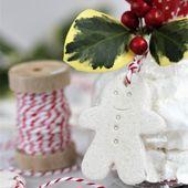 Gingerbread Family Salt Dough Decorations – Ideas …