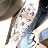 Lobo / Wolf @miltonreistatuador Benutzt ein # instattoo2 // instattoo2. . . . #t …