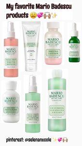 J'aime la ligne de soin pour la peau de Mario badescu, tout ce qu'il crée est un mira…
