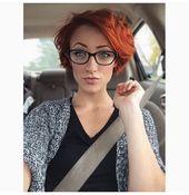 Effektvoll! Färbe Deine Haare in einem satten Kupferrot! 10 wunderschöne mittellange Frisuren – Aktuelle Frisuren