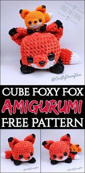 10 Cute Free Crochet Fox Patterns