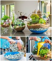 These 10 DIY Mini Fairy Terrarium Garden Ideas Bring Life Into Your House