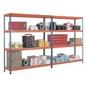 SCHULTE Lagertechnik Weitspannregal 214,6/62,1 cm »Z1 198,1 cm Höhe« online kaufen