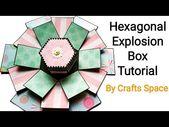 Hexagon Explosion Box Tutorial | Von Crafts Space – YouTube