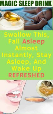 Swallow This, Fall Asleep Virtually Immediately, Keep Asleep, and Wake Up Refreshed …