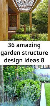 36 amazing garden structure design ideas 8