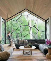 Einzigartiges zeitgenössisches Innendesign   – Home Design