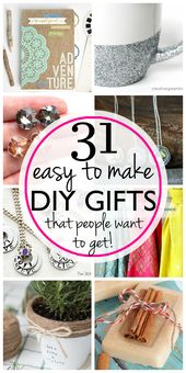 31 Simple & Cheap DIY Presents Your Associates and Household Will Love