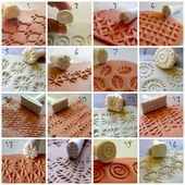 10% Off on 15 stamps of your choice! (Mini Stamps for clay)