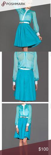 Pleated Skirt, classy elegant midi skirt Brand: Modern Frock  Color: Teal Size: …