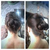 Got a formal event coming up?! Try this simple yet chic updo .  #updo #chic #elegant #hairstyle #hairofinstagram