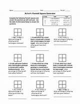 Monohybrid Mice Worksheet Answers
