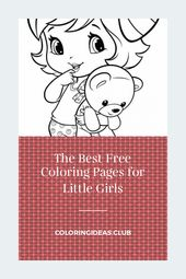 The Best Free Coloring Pages for Little Girls