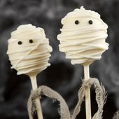 Mummy cake pops for Halloween party   – Treats