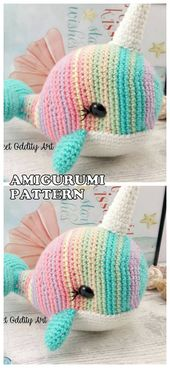 16 Los mejores patrones y tutoriales de ganchillo gratis de Amigurumi Animal Dog Dragon Bear …   – Gehäkelte Tiere