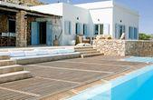 … un salon en béton blanc pour l'extérieur – Paperblog