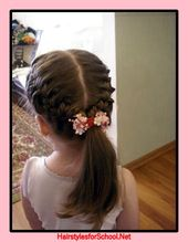 Hairstyles for girls for every day   – Paitin