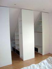 Kleiderschrank Dachschräg Kleiderschrank unter Pitch Simple Pax Kleider … – Einrichtungsideen – My Weblog