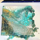 Fluid Acrylic Painting Video – Flip Cup