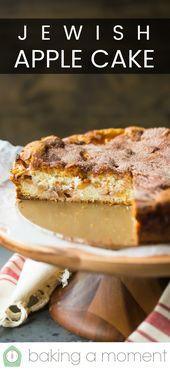 Jüdischer Apfelkuchen: Wahnsinnig feucht, zimtartig und angereichert mit …  – Cakes by the Pound