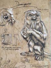 Harry Potter Fantastic Beasts Art Print Demiguise Beast Poster HTF