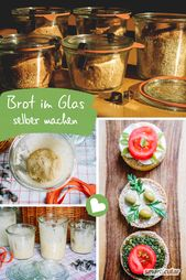 2 recipes to bake bread in a glass, durable, always fresh  – Schnelle Küche – Einfach und gesund!