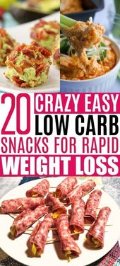 Brauchen Sie ein paar einfache Low Carb Snacks? Ich habe mit dem BEST Keto Snack Rec …