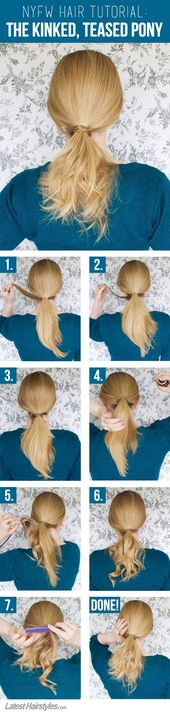 Learn To Recreate the Hottest Ponytail Spotted at NYFW