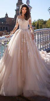 24 Top Brautkleider für die Braut – # BRAUT #Kleider #Top #Hochzeit – #Air – #diy #Pins #christmas