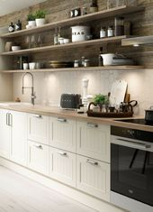 Scandinavian country kitchen: ideas, pictures, tips for planning and implementation