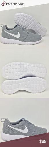 Nike Roshe One Run Mesh Wolf Grau Weiß Größe 8 Toller Artikel! Schnelle Lieferung! G17 …