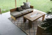 Streichen einer Terrasse mit UGL-Epoxid-Bodenfarbe Remodelaholic 36 # bags # fas…  – Best Terrace Ideas 2020