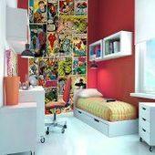 1 Wall Marvel Comics Wallpaper – # wall design  – Wandgestaltung | Aubenn.com