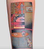 Ces 8 tatouages japonais inspirés par des gravures sur bois sont de magnifiques œuvres d'art   – Ink