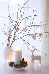 25 moderne Ideen für Weihnachtsdekoration