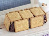 Tarta bloque de galletas y chocolate – Videos Gourmet