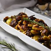 This recipe for Roasted Brussels Sprouts will make you fall in love with this gr…   – Veggies