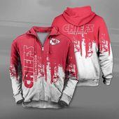 Kansas City Chiefs Hoodie 3D Graffiti Football Sweatshirt for fans   – design hoodie/sweatshirt