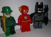 Lego Super Heroes Batman Flash Die Riddler Minifiguren aus Set 76012 Mint #affl …   – Lego LOVE
