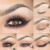 Make-up Vanity Brown aus Smokey Eye Make-up für ältere Damen bald Make-up Revolutio …   – Smokey Eye Makeup Step By Step