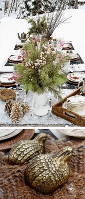 A Holiday Table Wisconsin-Style  — The Bubble Joy