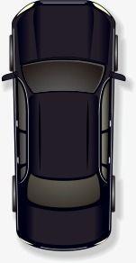 Vector Cartoon Of Black Cars Clipart Do Carro Png Vetor Desenho Animado Imagem Png E Vetor Para Download Gratuito Car Top View Black Car Top View