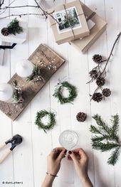 diy ideas for low-budget christmas decoration