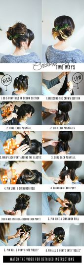 25+ New Ideas Hair Styles Updo High Up Dos