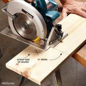 Kreissägen-Schnittführungen für Sperrholz erstellen