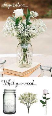 Rustikale Hochzeitsideen: 45 atemberaubende Ideen für Ihren großen Tag – Dies und Das – T