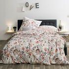 Estella Interlock Jersey Bettwasche Sarina 6742 250 Blumen Rosa