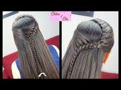 Scharfes Stirnband - Ziehen Sie das Stirnband zurück Einfache und schnelle Frisuren Braid Stirnband - YouTube